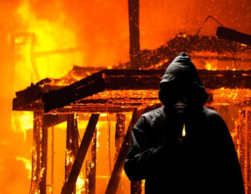 Shocking UK arson figures